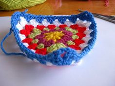 Pattern for a granny triangle!