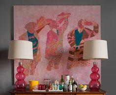 Красочный и в то же время элегантный интерьер квартиры в Эдинбурге | Пуфик - блог о дизайне интерьера