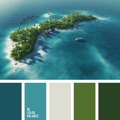 """""""пыльный"""" бежевый, бежевый, зеленый, изумрудный, салатовый, серо-бежевый, серо-синий, синий, темно-синий, холодные оттенки зеленого, цвет базилика, цвет зелени, цвет морской волны, цвет черники."""