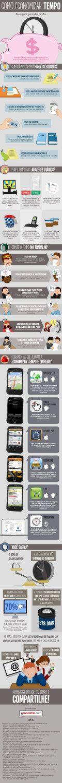 Infográfico - Dicas infalíveis para economizar o seu tempo!