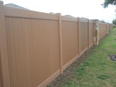 Maybe you should mention this awesome vinyl fence to your Property Manager for your HOA or PID boundary fence.  Call for a free estimate and presentation. 972-576-1600  Let the experts Future Outdoors install your fence.