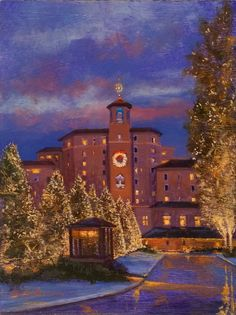 Christmas at the Broadmoor