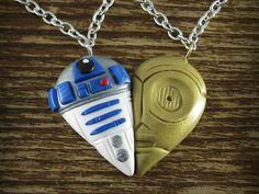 C-3PO R2-D2 Best Friends Necklace