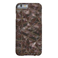 Brown Sparkling Tiled Crystal Phone Case