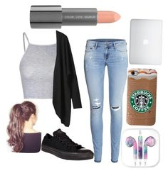 """Untitled #41"" by sbfreshwater ❤ liked on Polyvore featuring Glamorous, H&M, Converse and Easy Spirit"