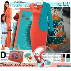 dbeb6a0a68877 It s All About Coral   Turquoise