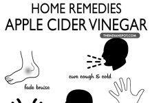 Natural Healing Remedies using apple cider vinegar
