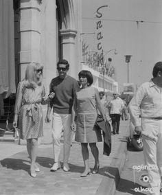 Catherine Deneuve, Jacques Demy & Agnès Varda, 1966