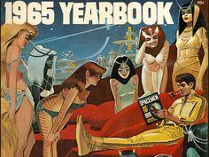 1965 Spacemen, por Wally Wood