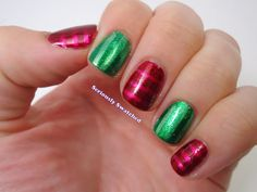 Seriously Swatched: Nail Art - Ornaments Sandwich