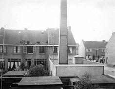 Brandbommen op het Wielingenplein, 1944.