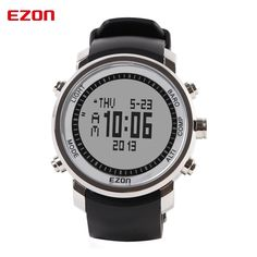 111.44$  Watch here - http://ali4sw.worldwells.pw/go.php?t=32782647952 - EZON Altimeter Barometer Thermometer Compass Weather Forecast Men Digital Watches Outdoor Sport Climbing Hiking Watch H506A11 111.44$