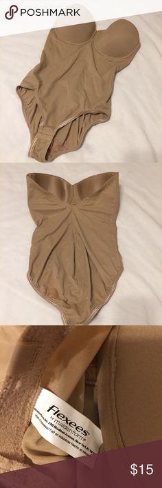 Beige Body shaper. 38D Beige Body shaper. 38D Maidenform Intimates & Sleepwear Shapewear