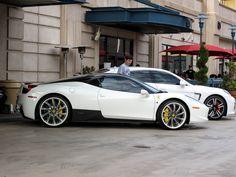 Ferrari 458 with custom Savini wheels!