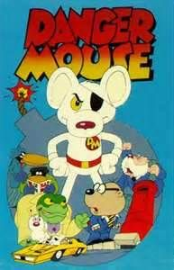 Danger Mouse-This cartoon always sort of confused me.