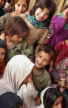 Nuristani kids, Afghanistan, I think the people of Afganistan have beautiful eyes and facial features.