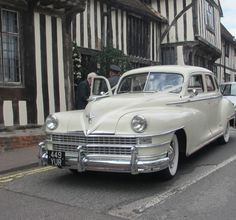 Driving Miss Daisy - Of course! Isn't this a beautiful car? I saw it in Lavenham while it was waiting for the Bride and Groom. Driving Miss Daisy, Movie Titles, Stenciling, Waiting, Groom, Challenges, Bride, Car, Photos