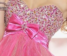 pink sparkly dress = perfection