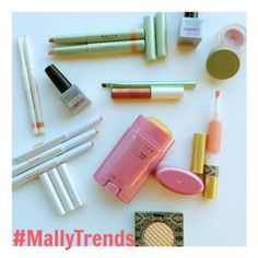 Create a summer sparkle in #rosegold! #MallyTrends
