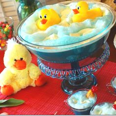 Rubber duck punch bowl