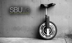 Unique Self-Balancing Electric Unicycle, codenamed the SBU V3