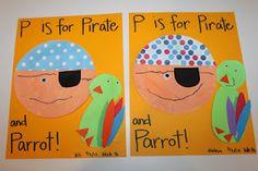 Pirate paper plate craft