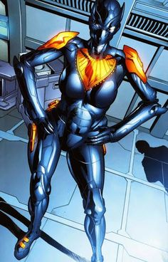 Shuri's Exosuit Art by Will Conrad and Peter Pantazis