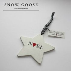 Christmas decoration from snowgooseuk.com