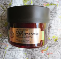 The Body Shop French Grape Seed Scrub ~ #Review