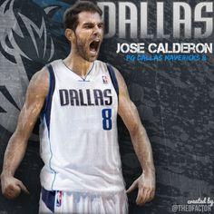 Jose Calderon (of Spain) #8 sport chic, york knick, jose calderon, mav mffl, dalla mav