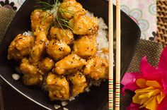 Honey Chicken, Asian Style. . . . . .. . . . . . .  This was so good, so I've got to bookmark it to make again! We kicked it up a notch with a little siracha :) Yum!