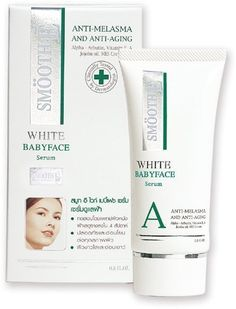 Smooth E White Babyface Baby Face Whitening Anti-aging Cream 0.4 Oz. by Smileshop. $12.47. ITEM DESCRIPTION Product name: Smooth E white babyface cream Product features: Clinically proven by dermatologists to help whiten skins and bring back the youthful look. Smooth E White Babyface Cream represents a major advance in skin whitening and aging spot fading by combining the intensified strength of antioxidants and the latest contemporary all natural extract to improve the cond...