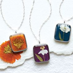 Look what I found at UncommonGoods: Birth Month Flower Necklace for $48.00