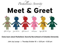 Sorority Recruitment Idea. This is adorable....because we are all adorable dolls!