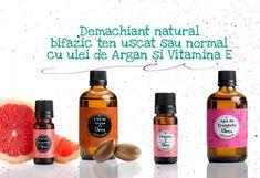 demachiant natural cu argan Drink Bottles, Drinks, Natural, Vitamin E, Drinking, Beverages, Drink, Beverage, Nature