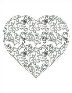 91 meilleures images du tableau motif coeur embroidery etchings et hearts - Coeur a imprimer gratuitement ...