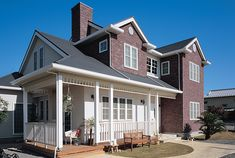 Custom Built Homes Exterior Design, Interior And Exterior, Custom Built Homes, Rustic Industrial, Decor Styles, Facade, Mansions, Architecture, House Styles