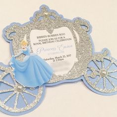 Cinderalla Inspired Birthday Party Table Setting and Decor Cinderella Quinceanera Themes, Cinderella Theme, Quinceanera Decorations, Cinderella Birthday, Quinceanera Invitations, Cinderella Invitations, Princess Invitations, Disney Princess Birthday, Disney Princess Party