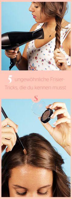 Zopf dicker aussehen lassen und Co.: 5 ungewöhnliche Frisier-Tricks, die du kennen musst