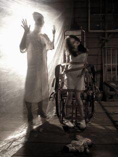 Asylum 6 by DominaDoll on deviantART, Horror illustration, Digital art