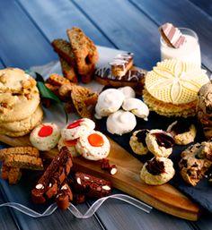 Italian Cookie Recipes, Italian Cookies, No Bake Cookies, Cookies Et Biscuits, Bar Cookies, Italian Christmas Cookies, Christmas Treats, Authentic Italian Desserts, Italian Foods