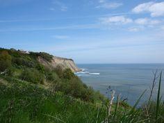 Robinhoods bay cliffs