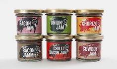 Packaging by Together Design for Eat 17 Bacon Jam.
