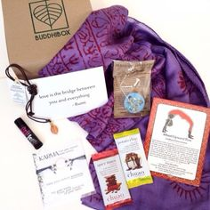 Buddhi Boxes are a fun way to treat your yogi self every month.