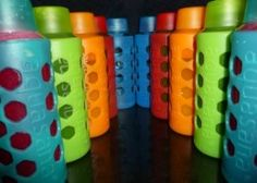 The Best Glass Reusable Water Bottles With Silicon Sleeve