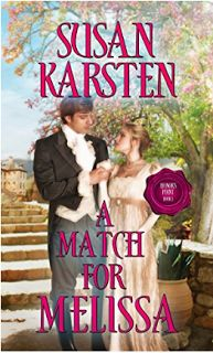 Giveaway at A Christian Writer's World: A MATCH FOR MELISSA by Susan Karsten #BookGiveaway
