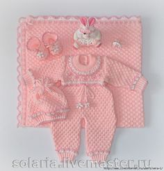 image (4) (671x700, 332Kb) Baby Knitting Patterns, Crochet Baby Blanket Free Pattern, Crochet Bebe, Knit Crochet, Baby Girl Dresses, Baby Dress, Handmade Baby Blankets, 3rd Baby, Diy And Crafts