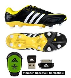 9f184d86d6e4 The vivid yellow give a slash of color to the classic black stylings of the  Adidas