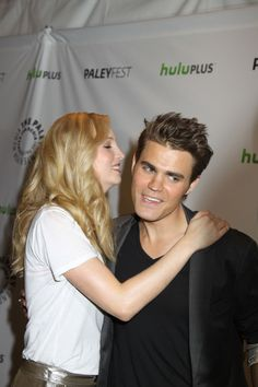 Candice Accola - Paul Wesley - The Vampire Diaries