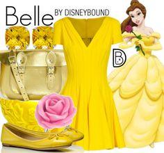 Belle by DisneyBound